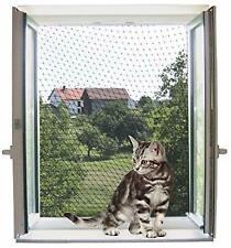 Transparente Cat Sicherheitsnetz 4x3m für Balkone Terrassen Fenster wetterbeständig