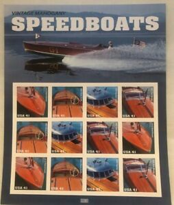 Speed Boats - (12 ) 41 cent  Stamps - MNH - 2006