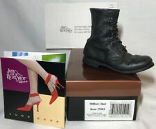 Just The Right Shoe Miniature Military Boot Figurine Rare Work Boots