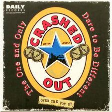"CRASHED OUT / SECRET ARMY Split 7"" . punk street punk boot boy rock"