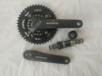 SHIMANO Acera FC-M391 bike Crankset 175mm BB-ES25 Bottom Bracket Included
