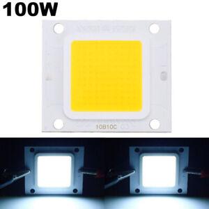 2X Led chip dc 100W 32V light lamp cob smd cool white bulb