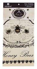 Honey Bees Tea Towel Cotton Drying Dishcloths Ashdene Emily Adams Original