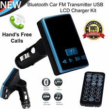 S6 BT Dual USB Charger LCD Car Kit MP3 Bluetooth FM Transmitter With Hands-Free