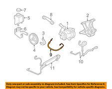 Chevrolet GM OEM 05-07 Corvette-Power Steering Pressure Hose 15903239