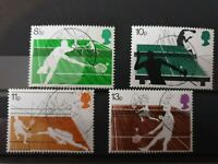 Great Britain 1977 Racket Sports.4 stamp set used