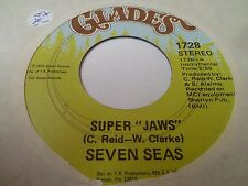 "7"" SEVEN SEAS - Super Jaws - EX - GLADES - 1728 - US - 1975"