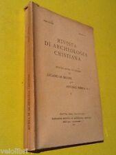 RIVISTA DI ARCHEOLOGIA CRISTIANA 1972. Luciano de Bruyne / Antonio Ferrua