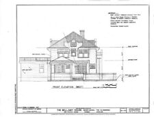 1920s Sears House, Mission Style home plans, printed architectural plans