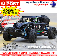 1:18 2.4G 4x4 RC Car High Speed RC Car 4WD Racing Off-Road 45km/h Black RC Car