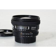 Nikon Nikkor af 20mm 1:2 .8 d objetivamente