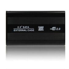 """USB 2.0 SATA 2.5"""" boitier  disque dur externe boîtier Drive + câble pour PC MAC"""
