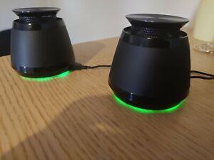 Razer Ferox Rechargable Portable Speakers - Barely Used