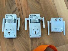 drei (3x) NETGEAR WLAN Repeater Extender Verstärker WiFi AC750 WN3100RPv2 EX2700