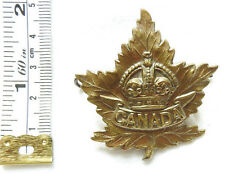 Military WW2 Canada Canadian Forces CEF Cap Badge (4480)