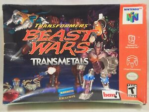Transformers Beast Wars Transmetals (Nintendo 64 | N64) Authentic BOX ONLY