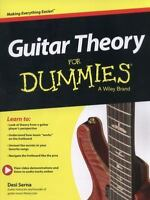 Guitar Theory for Dummies by Consumer Dummies Staff and Desi R. Serna (2013,...