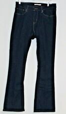 Womens LEVIS Jeans Curvy Bootcut Size 31 Dark Denim Pants NWOT