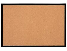 Quartet Bulletin Board, Cork Board, 2' x 3', Black Frame (Mwdb2436-Bk) 1 Board