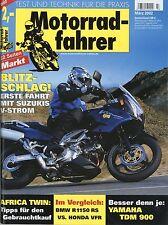 Motociclisti 3/02 2002 YAMAHA WR 250 F HONDA VFR BMW R 1150 RS KTM DUKE xrv750