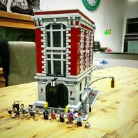 Ghostbusters Building Firehouse Headquarters Architecture Building Blocks Bricks