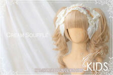 Lolita cosplay Gothic party wig Cream Ver 2 clip Curly