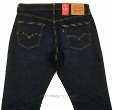 Levis 559 Relaxed Straight Fit 40x30 Mens Jeans 40 X 30 Dark Wash ...