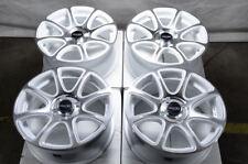 """15"""" Wheels Honda Civic Accord Jetta Corolla Cooper Mx-5 Miata White Rims 4x100"""
