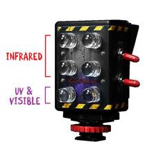 Ghost Hunting Dual Full Spectrum Infrared Light for GoPro Camera IR UV LED