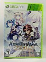 Record of Agarest War Zero (Microsoft Xbox 360, 2011) New sealed !
