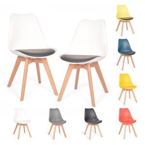 2er Set Esszimmerstühle Esszimmerstuhl  Küchen stuhl Kein recycelter Kunststoff