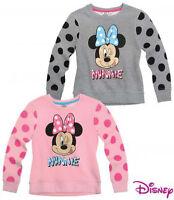 Minnie Mouse Mädchen Sweatshirt Pullover Gr. 92-128  Shirt langarm Minnie neu!