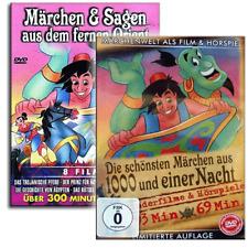 11 Märchen Zeichentrick DVD Filme + 5 Hörspiele aus 1001 Nacht für Kinder - Neu