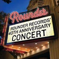 ROUNDER RECORDS' 40TH ANNIVERSARY CONCERT  CD NEU