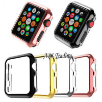 Full Screen Hard/Soft Protector Case Cover for Apple Watch Series 1 2 3 38/42mm