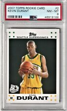 2007 Topps - KEVIN DURANT - RC ROOKIE 50TH ANNIV. #2 - PSA 8 - Supersonics