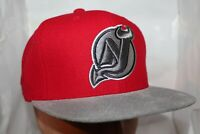 New Jersey Devils Mitchell & Ness NHL Team Solid StrapBack,Hat,cap   $ 36.00 NEW