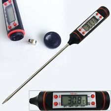 1 Digital Kitchen Probe Thermometer Food Temperature Cooking BBQ Baking Jam Meat