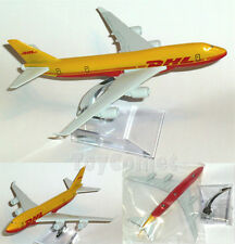 DHL Express BOEING 747 Airplane 16cm DieCast Plane Model