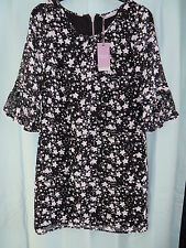 BHS Sophie Gray Collection  dress size 8 black RRP £40 BNWT