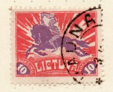 LITHUANIA 1921 Early Issue Fine Used 10auk. NW-07243
