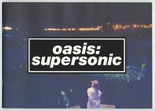 Oasis: Supersonic JAPAN PROGRAM Mat Whitecross, Liam Gallagher, Noel Gallagher