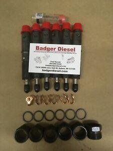 NEW OEM MARINE 370HP Performance Injectors 5.9 Cummins Turbo Diesel 12v Ram