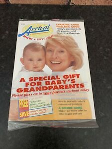 1st Edition ARRIVAL BABY MAGAZINE  VINTAGE FROM 1997- New & Sealed