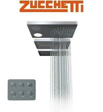 Zucchetti Z94150 Ceiling Mounted S.S Shower Head w/Light & Music w/Control Panel
