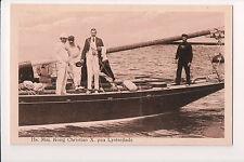 Vintage Postcard King Christian X of Denmark