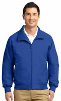 Port Authority Men's Long Sleeve Front Zippered Pocket Winter Jacket. TLJ328