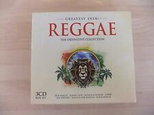 Greatest Ever! Reggae The Definitive Collection Peter Tosh Dennis Brown 3 x ‎CD