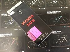 VEL Mamba Neon Pink Padded Handlebar Tape Road Bike
