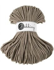 Bobbiny koord color: COFFEE / 100% Cotton 5mm Bobbiny Rope 100m  Macrame Cord